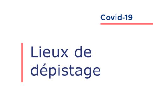 Covid-19 : Lieux de dépistage en Île-de-France