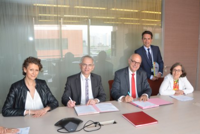 Signature de la convention corpalif