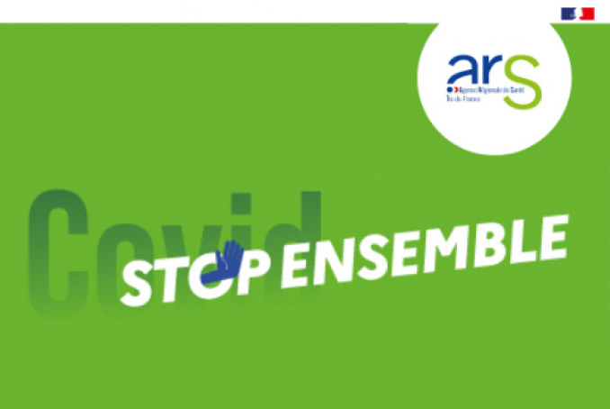 logo du dispositif covid stop ensemble